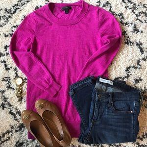 J. Crew Pink Teddy Sweater